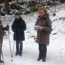 Gedicht in de sneeuw