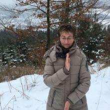 De Vitale Lijn in de sneeuw